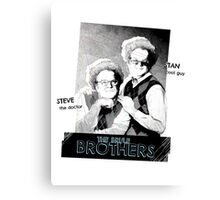 Brule Brothers Portrait Version 3 Canvas Print