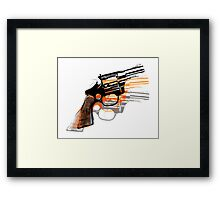 Got Yourself a Gun (Left)... Framed Print