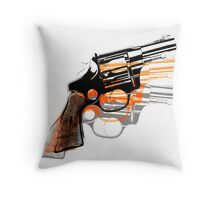 Got Yourself a Gun (Left)... Throw Pillow