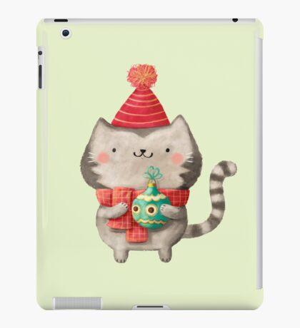 Cute Cat Christmas iPad Case/Skin