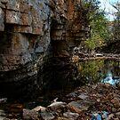 Reflecting Rocks by EbelArt