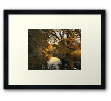 Tranquil Reflection Framed Print