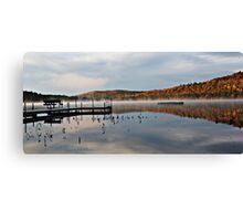 Autumn - Stearns Pond Canvas Print
