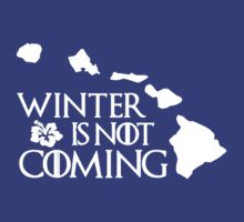 Winter Is Not Coming Tshirt by alexpeter