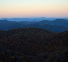 East Fork Overlook by Steve Mezardjian