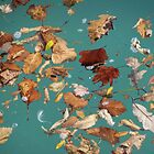 Floating Leaves by Diane Trummer Sullivan