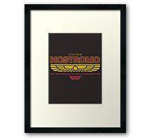 USCSS Nostromo Starfreighter Framed Print