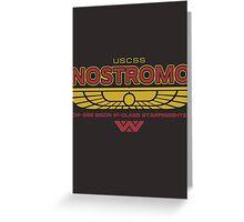 USCSS Nostromo Starfreighter Greeting Card