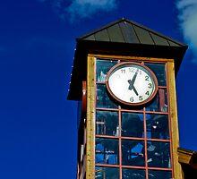 Tahoe Clock Tower by James Cameron