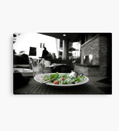 Salad Anyone? Canvas Print