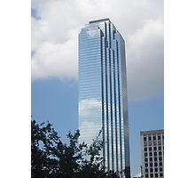 Downtown Dallas Skyscraper Photographic Print