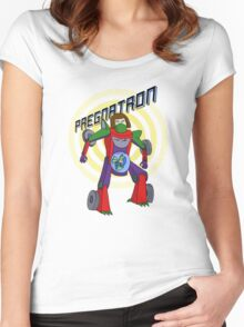 Pregnatron Women's Fitted Scoop T-Shirt