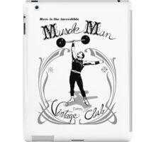 Muscle Man - Vintage Club iPad Case/Skin