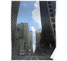 street view - Dallas Poster
