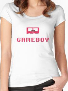 Gameboy Monster Women's Fitted Scoop T-Shirt