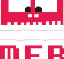 Gameboy Monster Sticker
