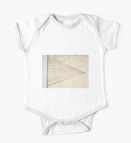 Famous Painter Parts Human Body Symmetry Four Books Geomety 1557 Albrecht Durer 0153 Lines Symetry One Piece - Short Sleeve
