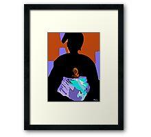 Mama and Me Framed Print