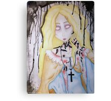 Lady of the Leeches Canvas Print