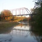 Iron Bridge over McCall Creek - Lucien, MS by Dan McKenzie
