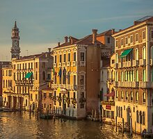 Venice in sunset light by Chris Fletcher