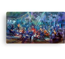 BMUP N0 4 - Rockin' with the KIds! Canvas Print