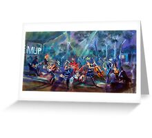 BMUP N0 4 - Rockin' with the KIds! Greeting Card