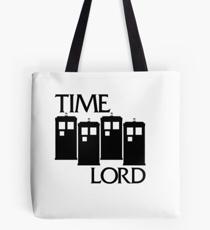 Damaged Doctor - Time Lord Tote Bag