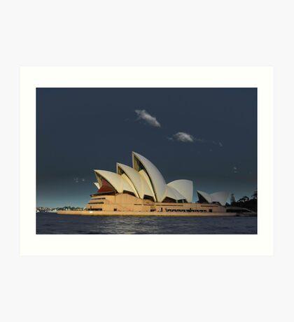 Opera House Art Print