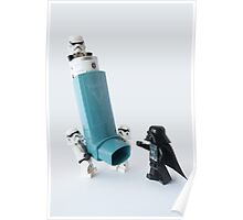 Even dark lords of the Sith can have asthma Poster