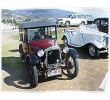 Austin 7 Tourer 1928/England Hobart Show Tasmania 2010 Poster