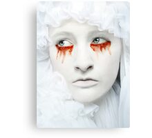 Blood and Milk II Canvas Print
