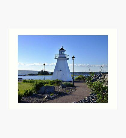 Port Medway Lighthouse Art Print
