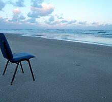 A  Chair on the beach by foppe47