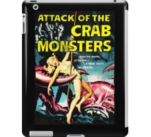 Attack of the Crab Monsters! Vintage  iPad Case/Skin