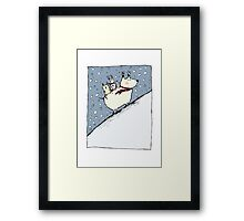 Kind Dog Framed Print