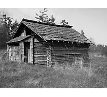Old Cabin Photographic Print