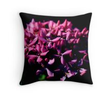 Pink Petals II Throw Pillow