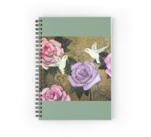 Gardenscape Spiral Notebook