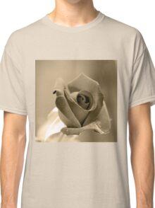 Sepia Rose Classic T-Shirt