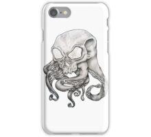 Alien Octopus Brain Parasite iPhone Case/Skin