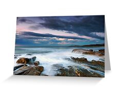 Rocky Beach Outlook Greeting Card