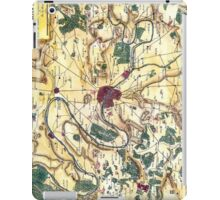 Map of the environs of Paris, France, Bonne,1780 iPad Case/Skin