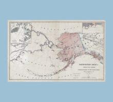 Northwestern America - Alaska - 1867 One Piece - Short Sleeve