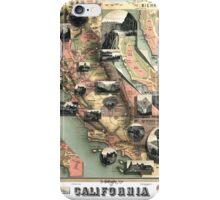 California - United States - 1888 iPhone Case/Skin