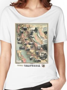 California - United States - 1888 Women's Relaxed Fit T-Shirt