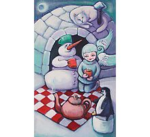 Wintertime picnic Photographic Print