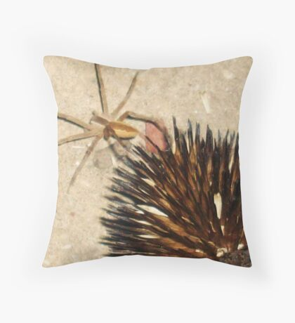 Prickly, Crawly Things Throw Pillow