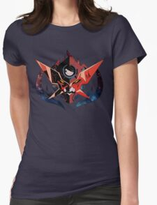 Gurren Lagann - Who the hell do you think i am ? (text-less) Womens Fitted T-Shirt