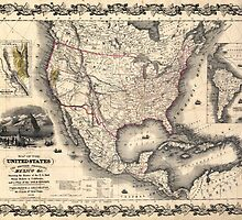 United States in 1849 by paulrommer